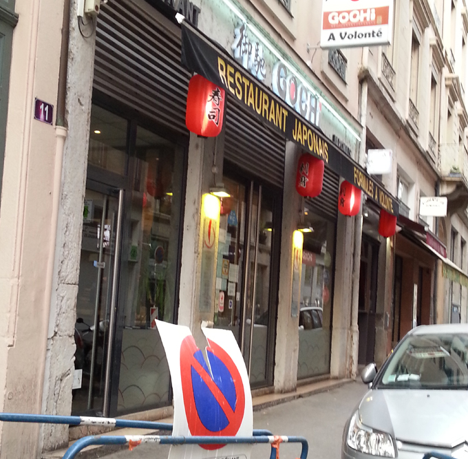 Japanese restaurant near Piazza Carnot