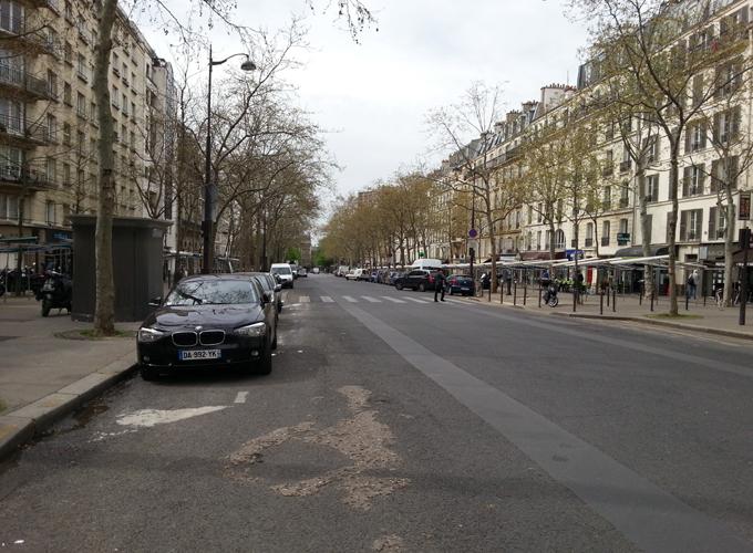 ルイイ通り(Boulevard de Reuilly)