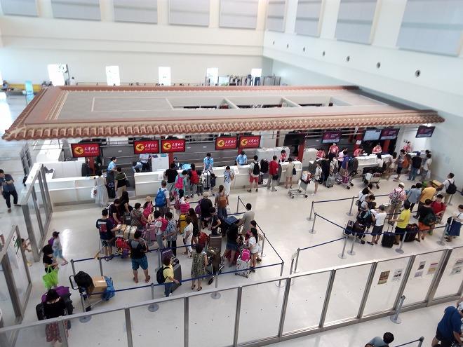 日本那覇国際空港。