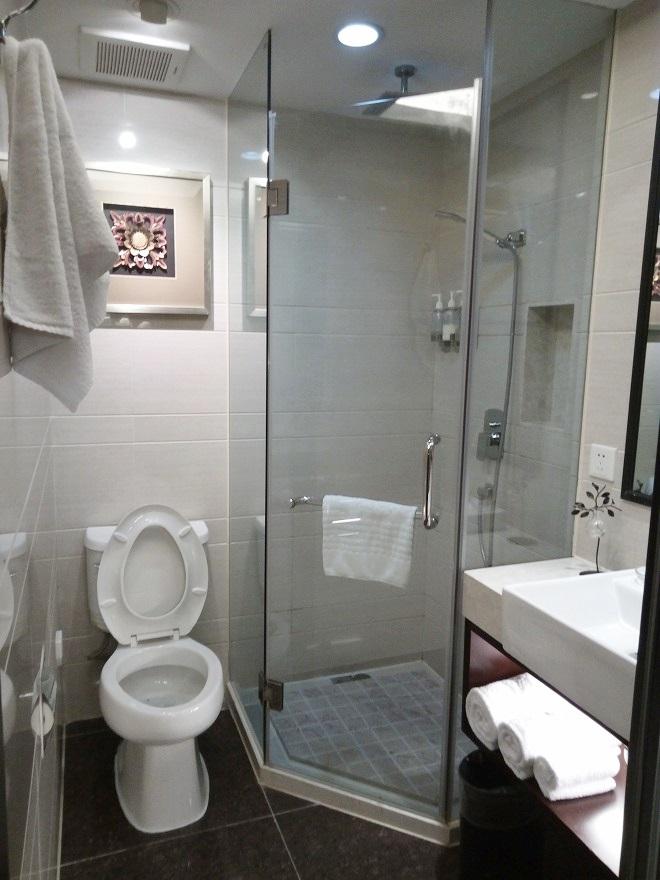 シャワールーム/ ナラダブティックホテル上海ホンコウ