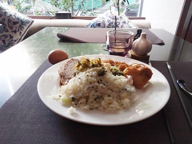 朝食/ ナラダブティックホテル上海ホンコウ
