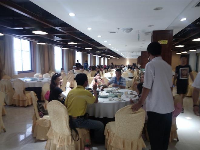 杭州・中華の昼食。