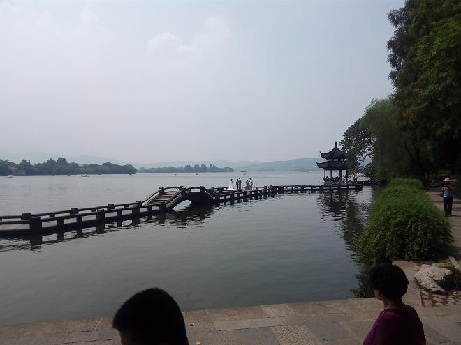 杭州西湖・結婚写真の撮影。
