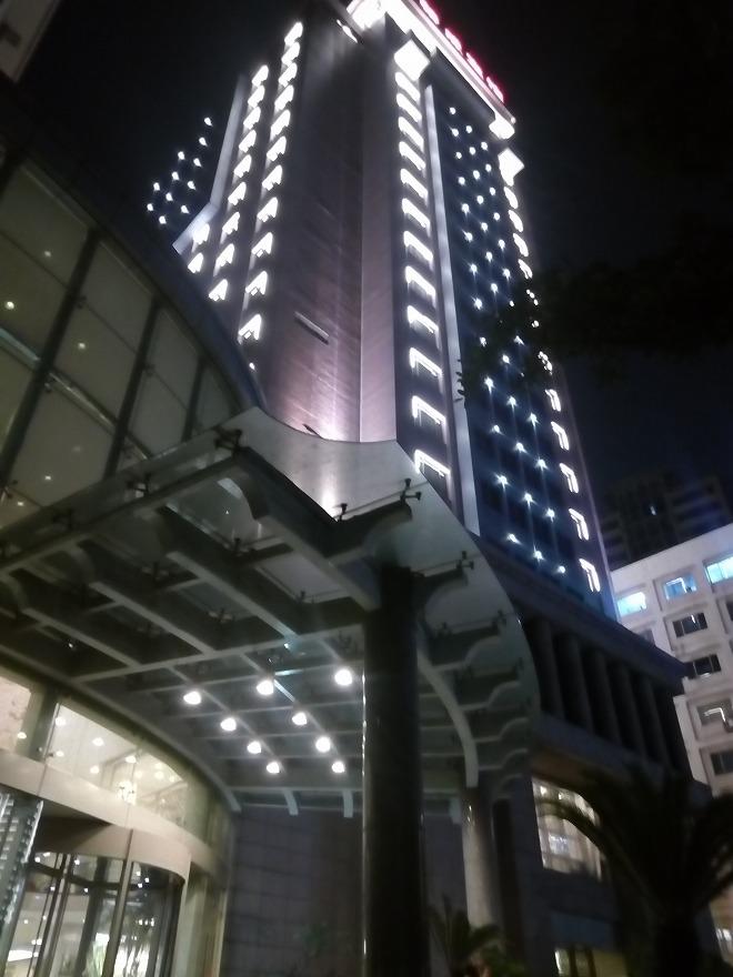 杭州・ホテル浙江賛成賓館。