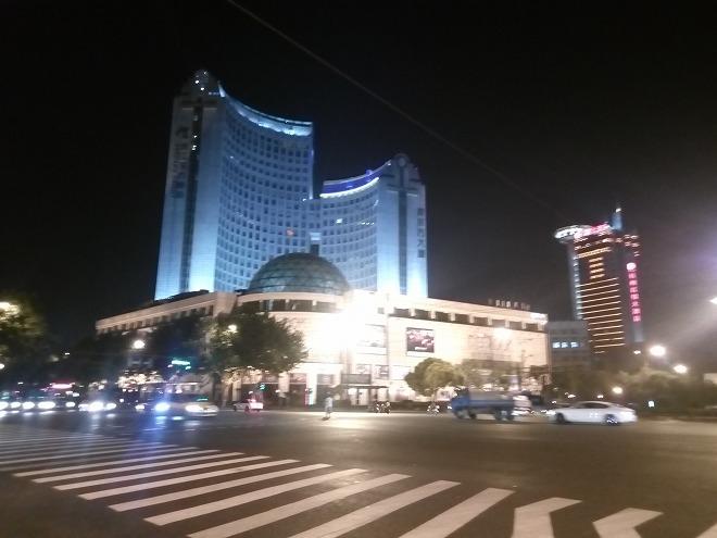 杭州の夜。