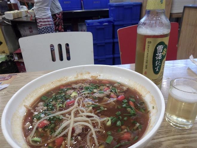 杭州・中華料理屋。