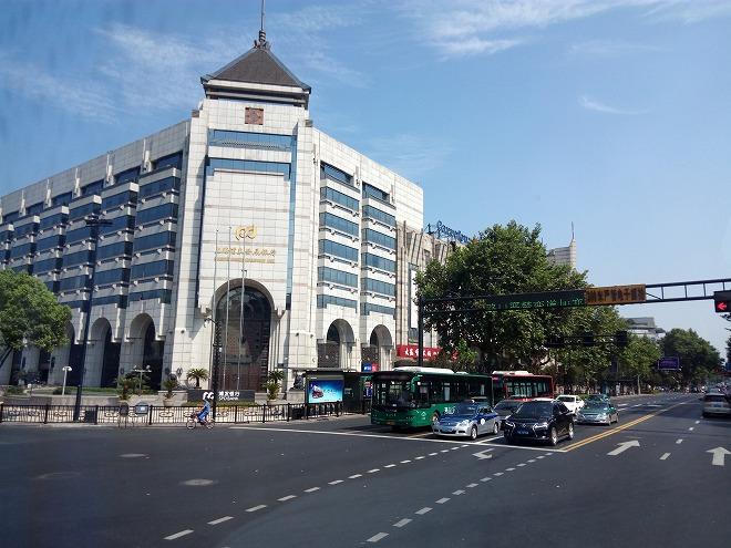 杭州の街。