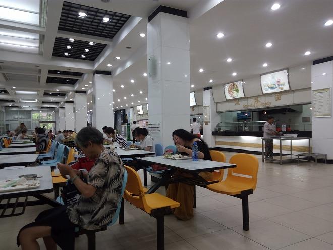 SISU学食1階。