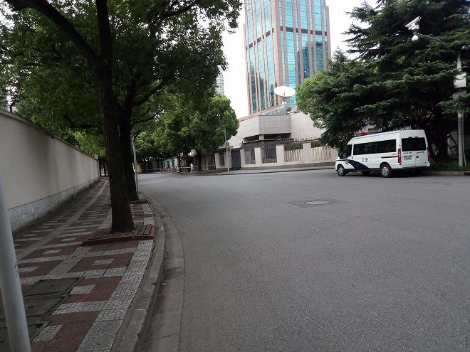 上海日本領事館。