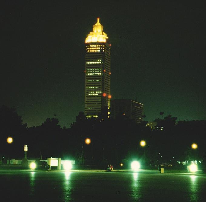 chuseikinendo in the night.