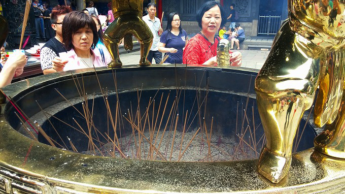 龍山寺(Long shan si.)