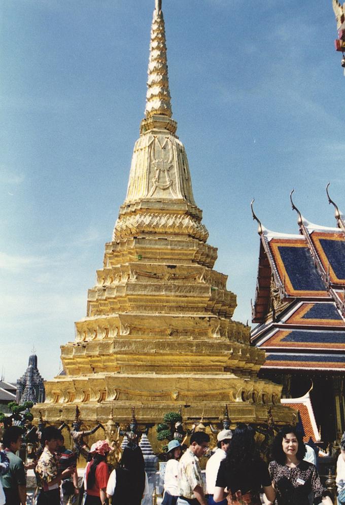 Temple in Bangkok.