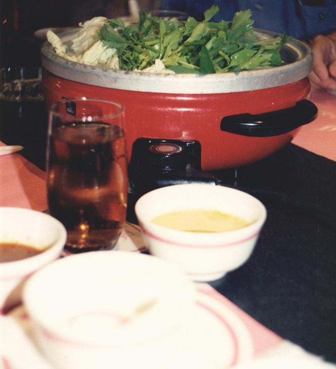 dinner in Bangkok.