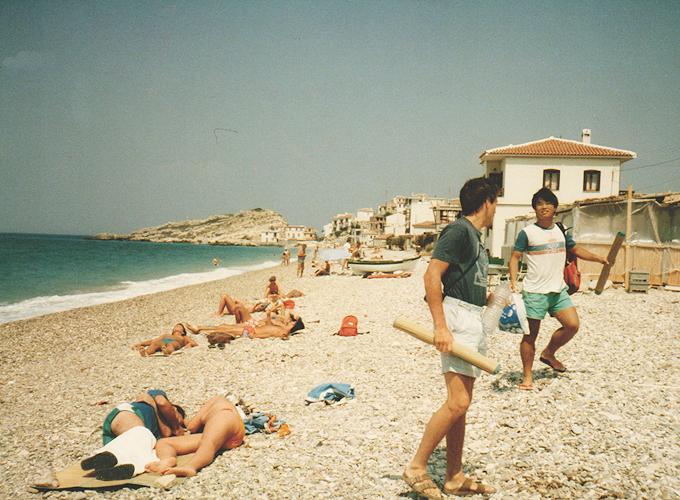 Beach in Izmir.