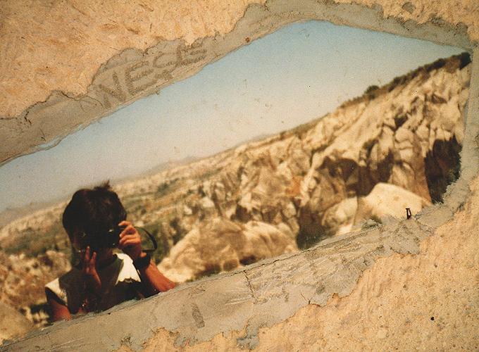 Selfshot in cappadocia, Turkey.