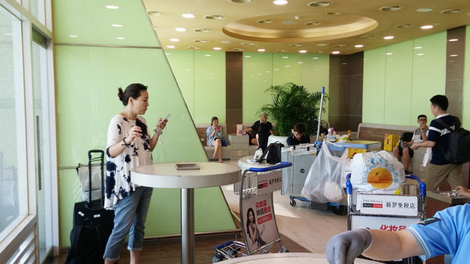 仁川空港喫煙室