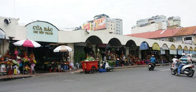 ベンタイン市場(Ben Thanh Market.)