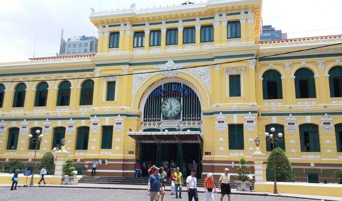 サイゴン中央郵便局(Saigon Central Post Office.)