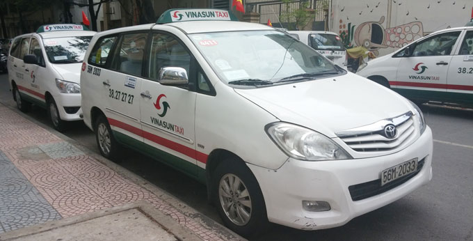 ビナサンタクシー(VINA SAN TAXI)