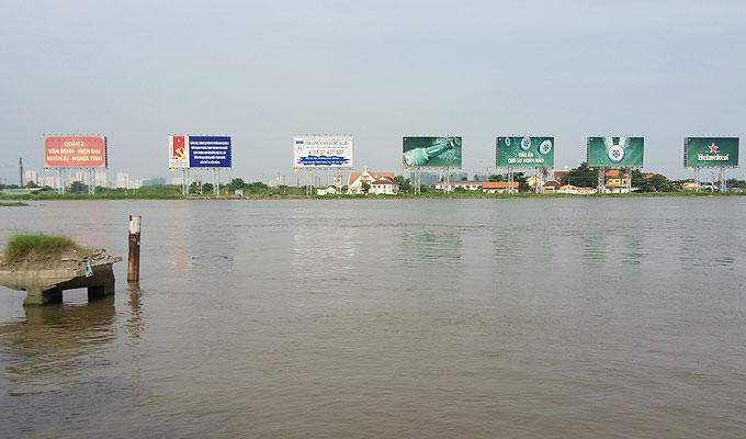 サイゴン川(Saigon Rever.)