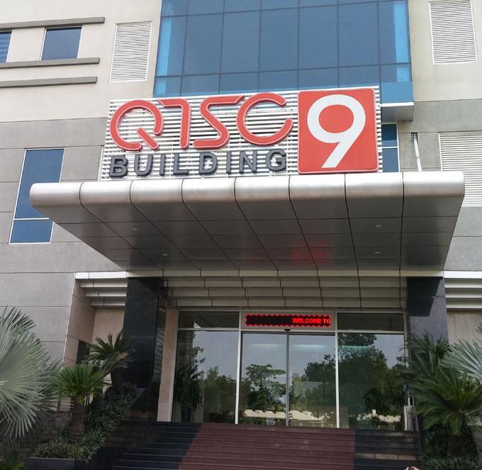 QTSCの第9ビル。