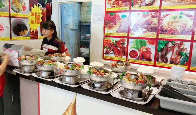ベトナム料理の飲食店