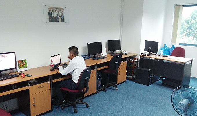 e.townのオフィス。