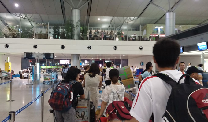 タンソンニャット国際空港(Tan Son Nhat International Airport.)