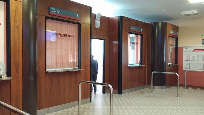 シベリア鉄道・ウラジオストク駅