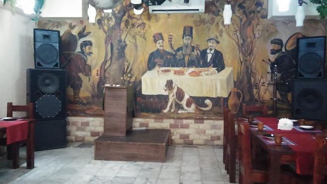 グルジア料理「ドゥヴァグルジナ」