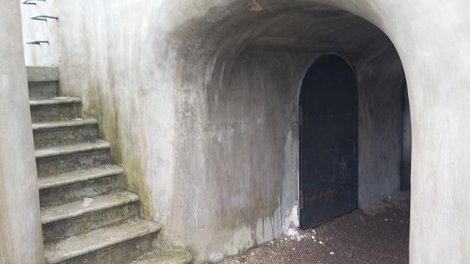 ルースキー島の砲台