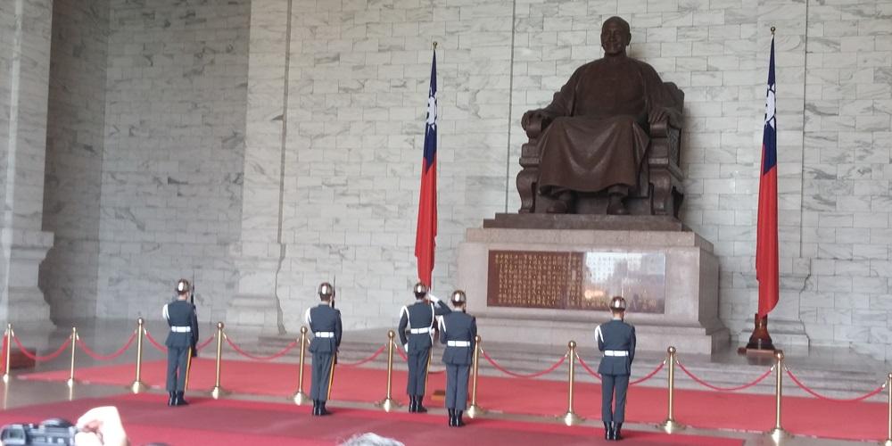 台湾・中正纪念堂。