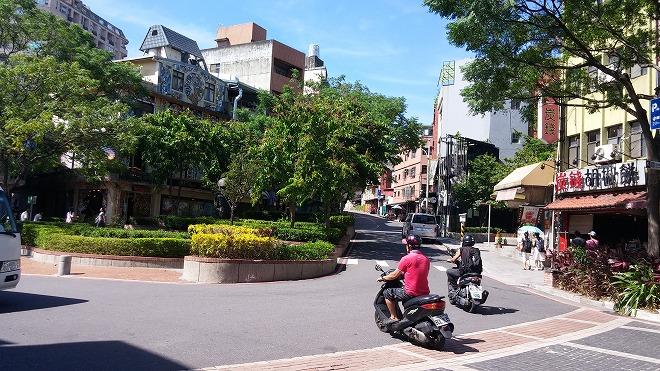 台湾・新北市淡水。马偕街付近。淡水老街