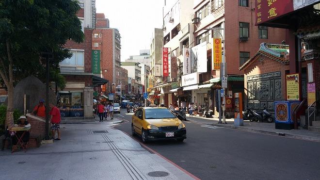 台湾・新北市淡水。淡水老街