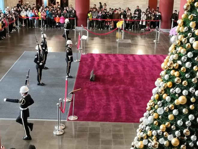 国立国父紀念館 衛兵交代式