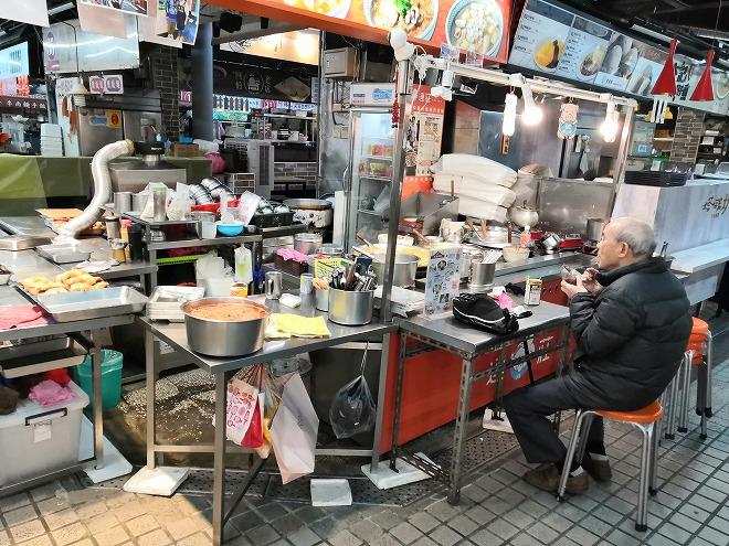 朝の台湾 瑞芳美食広場
