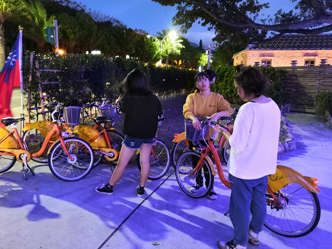 自転車で淡水へ